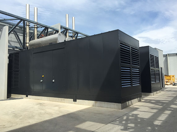 Industrial Generator, CDC Project Canberra
