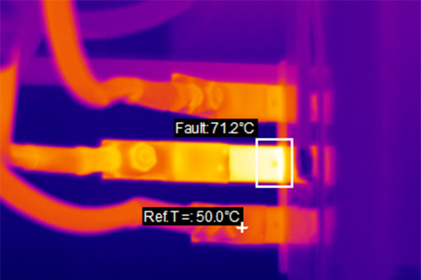 NDT Services Group offers thermography services carried out by qualified electricians
